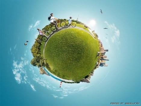 зелена планета
