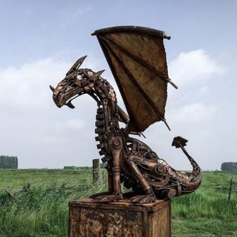 дракон стиймпънк