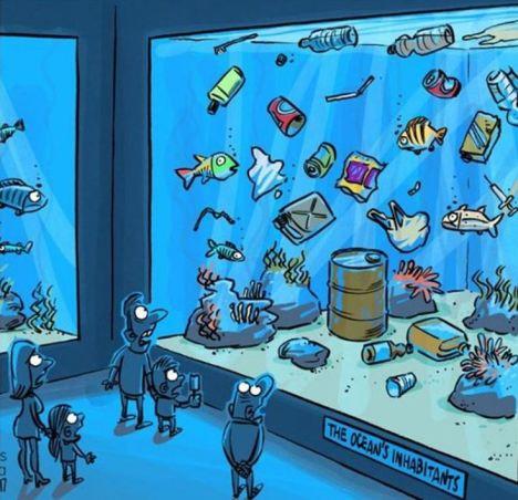 замърсяване на природата водата океана